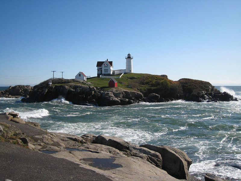 The Nubble Lighthouse, York Harbor, Maine