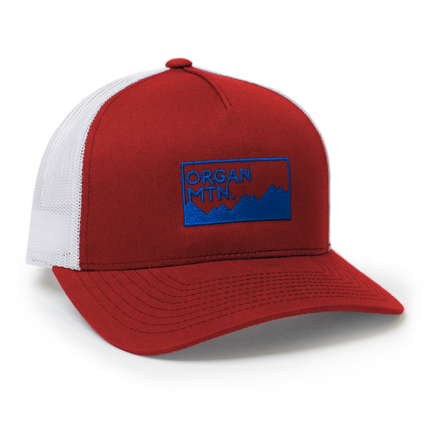 Organ Mountain Outfitters - Outdoor Apparel - Hat - Expedition Snapback Cap - Red White Navy.jpg