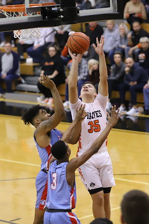 12V Boys Basketball:  Portsmouth at Wheelersburg 2020