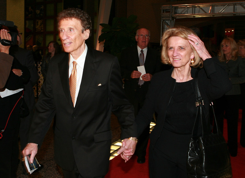 . TORONTO, ON - NOVEMBER 09:  Mike and Marian Ilitch arrive at the Hockey Hall of Fame Induction ceremony at the Hockey Hall of Fame on November 9, 2009 in Toronto, Canada. (Photo by Bruce Bennett/Getty Images) *** Local Caption *** Mike Ilitch;Marian Ilitch