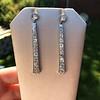 4.50ctw Art Deco Conversion Dangle Earrings 17