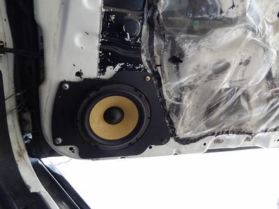 1996 Nissan 180SX original type x Front Door Speaker Installation