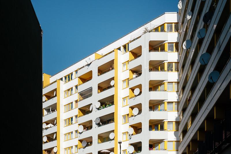 Retro looking building in Berlin