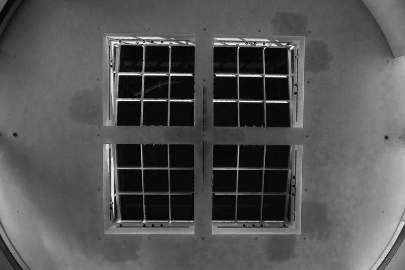 September 23 - Geometric ceiling.jpg