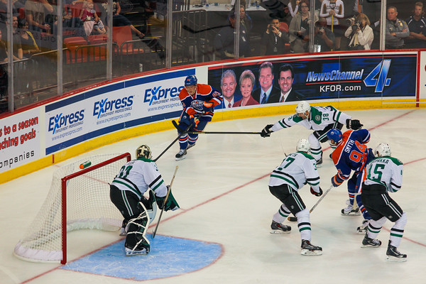 2013 Dallas Stars vs Edmonton Oilers