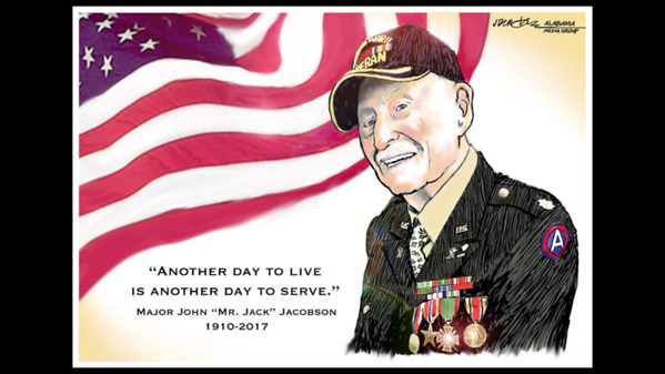 Major John Jacobson WWII April 2017