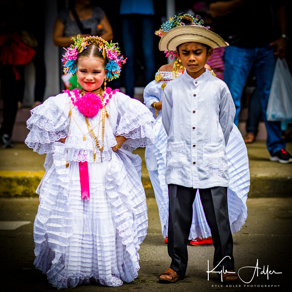 Traditional Panamanian dance.