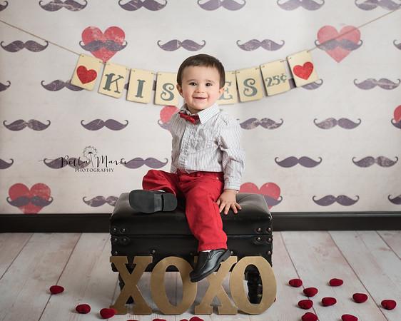Little Mason ~ Valentine's Day Mini Session