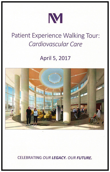 NMLFH Patient Experience Walking Tour: Cardiovascular Care, April 5, 2017