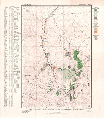 USGS Professional Paper 38 Maps