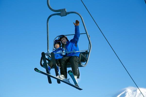 Ski Lift Grand Hirafu Niseko Japan