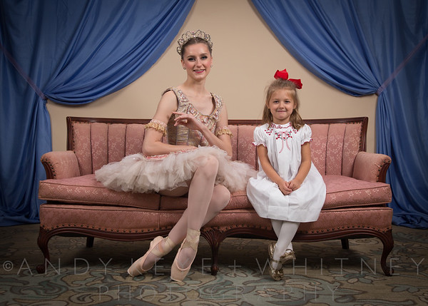Sugar Plum Fairy Tea Party - Crescent Hotel - 3 Dec 2017