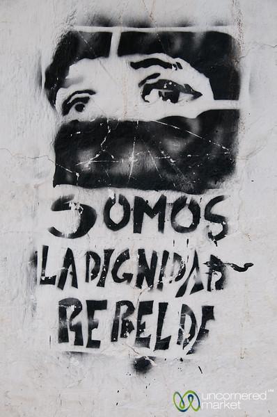 Dignity of Rebels, Street Art in Chiapas - Mexico