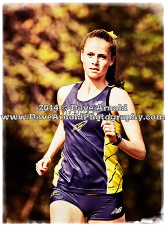 5/14/2014 - Girls Varsity Track & Field - Brookline vs Needham