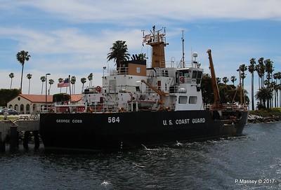 USCGC GEORGE COBB WLM 564 San Pedro 17 Apr 2017
