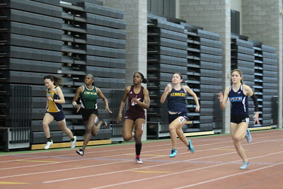 Girls 55m Dash Finals