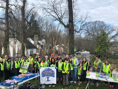 4.6.2019 Tree Planting with Catonsville Tree Canopy Project