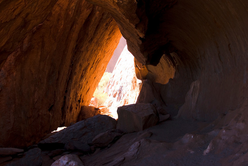 Cave Uluru - Northern Territory, Australia