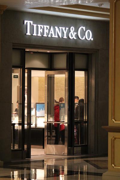 Tiffany Store in the Venetian, Macao