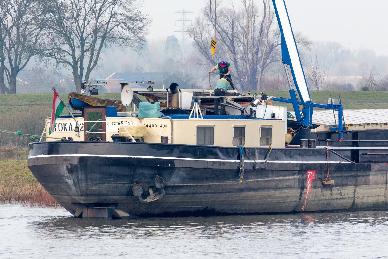 'Tokaj-II' verliest haar stuurhut
