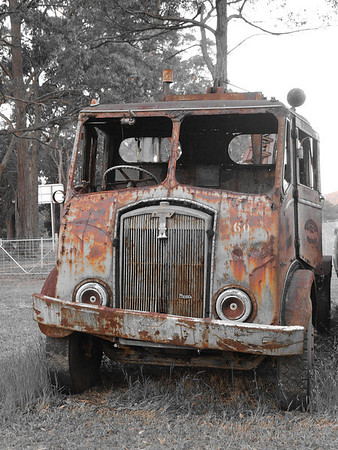 Vintage and Rusty