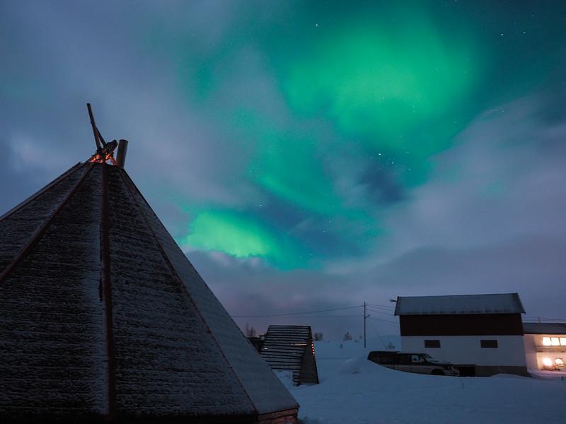 Northern Lights in Northern Norway