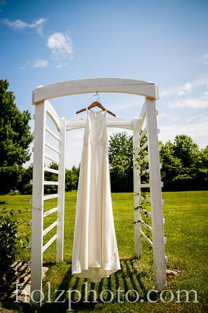 Samantha & James Color Wedding Photos