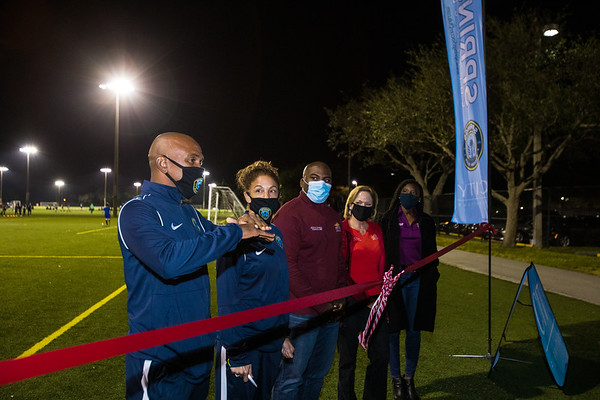 121820 Cypress Park Soccer Ribbon Cutting