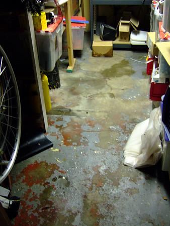 Basement Flooding and Temp Gutters