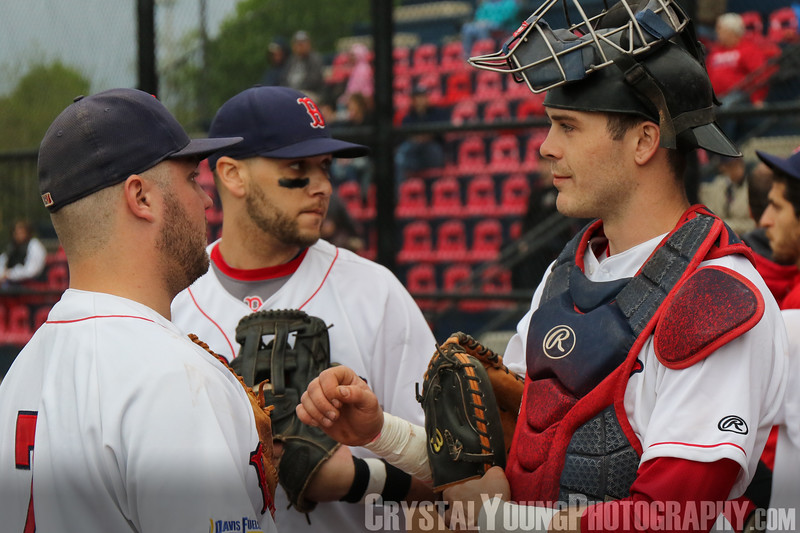 Kitchener Panthers at Brantford Red Sox May 26, 2017