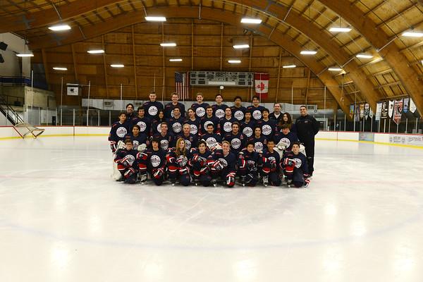 Beckman '15-'16  Hockey Team Photos