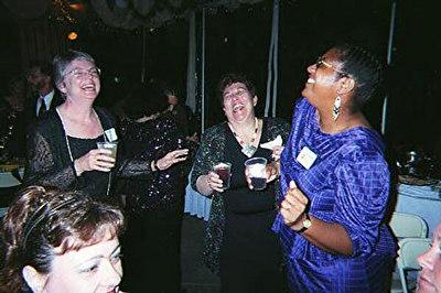 LA Gladiator Party, March, 2001