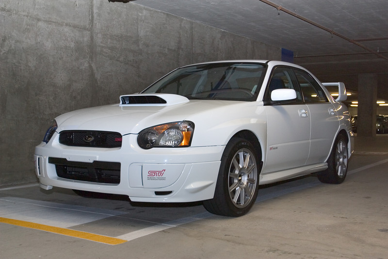 (a serious upgrade from the WRX wagon)
