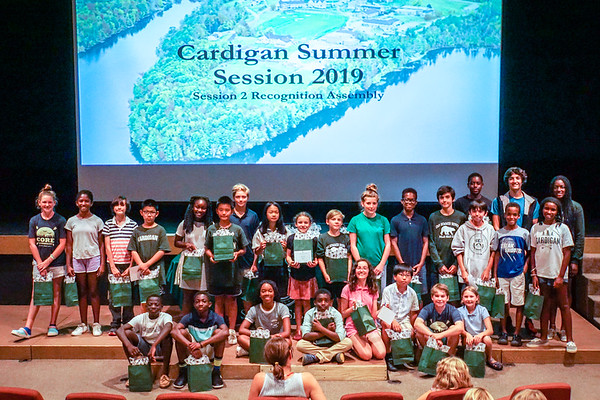 August 7: Recognition Assembly