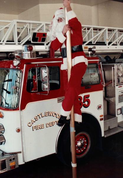 Santa at 35's