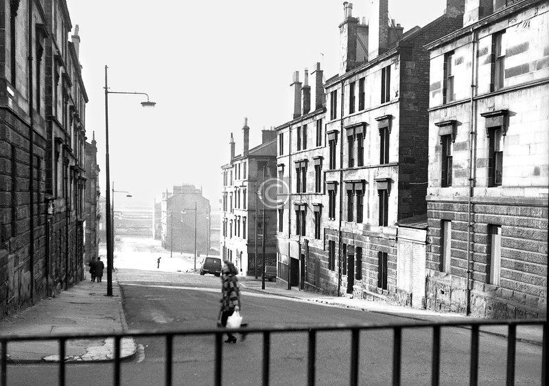 Dunchattan St from Broompark Dr.    January 1974