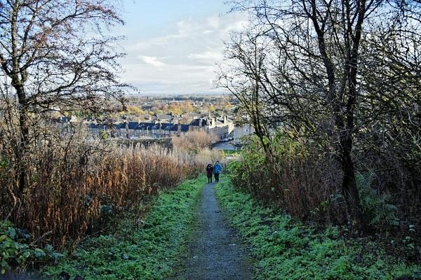 Hiking trails in Stirling Scotland