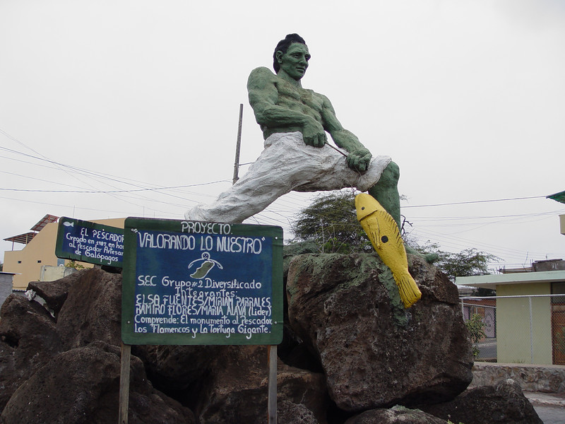 Statue of the fisherman