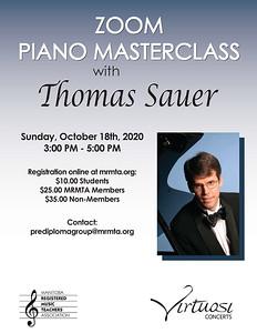 2020 Thomas Sauer Masterclass