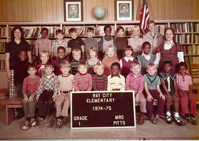 Ray City Elementary School - 1974-75