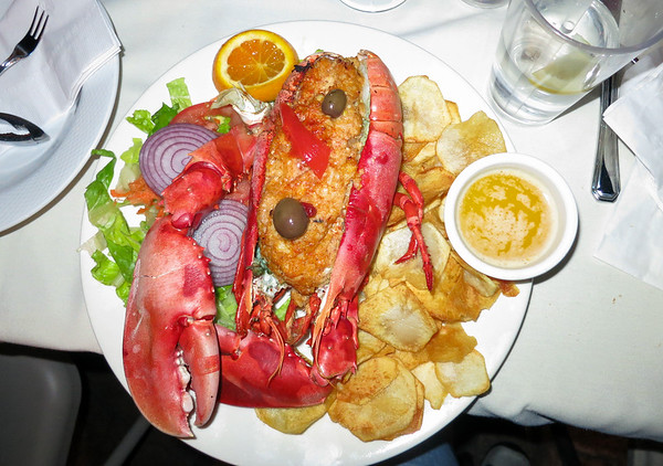 Dinner with friends,  Allegro Seafood Grill - September 28, 2013