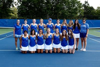 Girls Tennis A - 2021