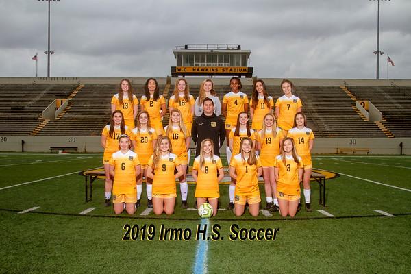 2019 Girls Varsity Soccer