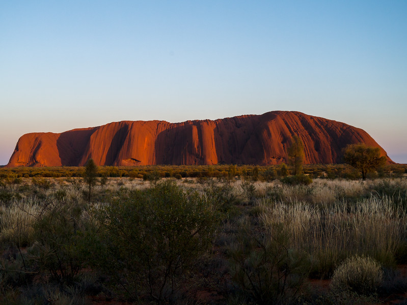 Uluru Sunrise Viewing Area
