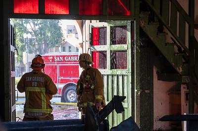 Mission Incident (San Gabriel)