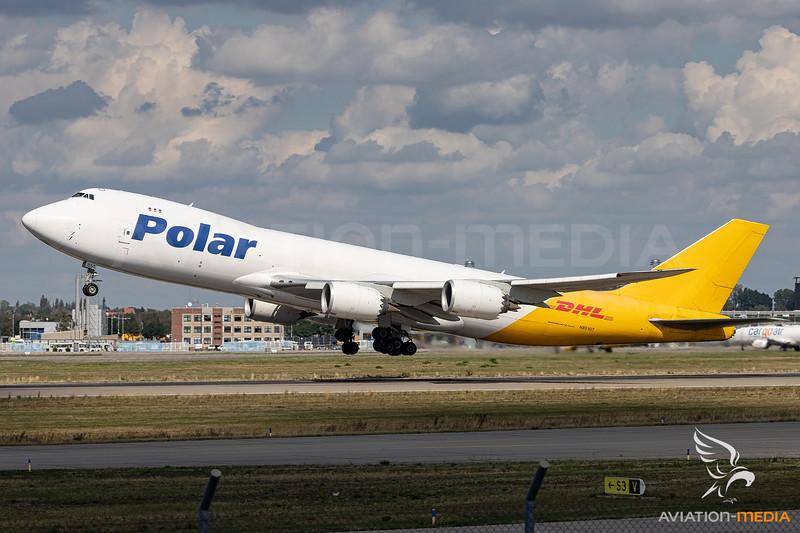 Polar / Boeing 747-8 / N851GT