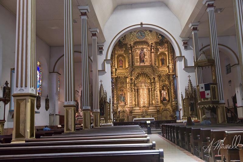 Iglesia de San Jose, Casco Viejo Panama