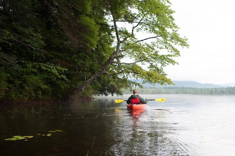 Chocorua Lake, early Monday morning.