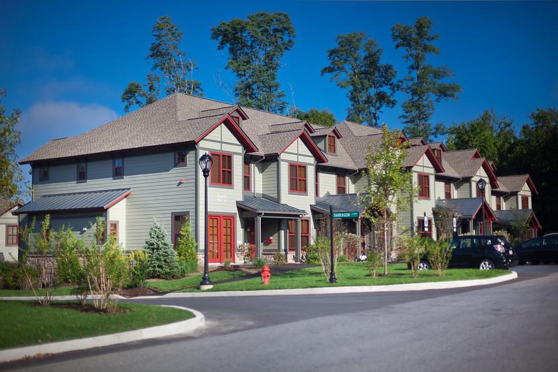 New Townhouse exteriors