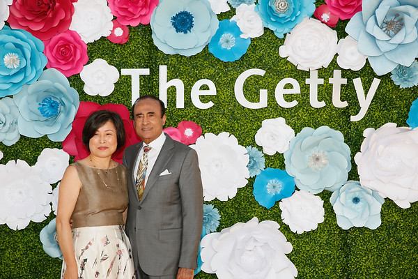 Getty Garden Party Images